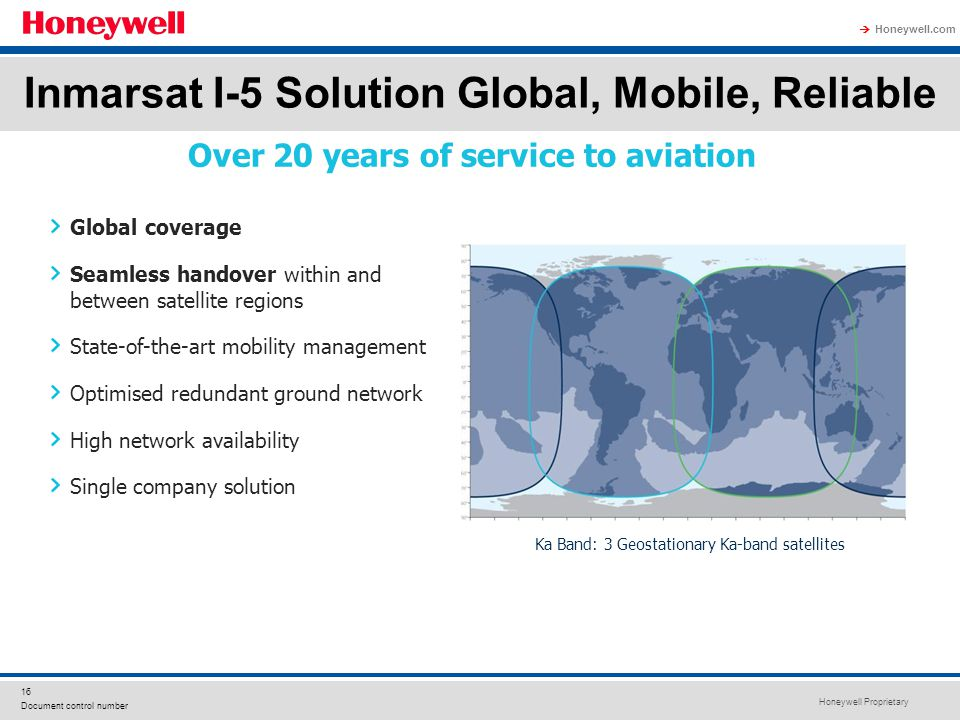 Inmarsat I-5 Solution Global, Mobile, Reliable