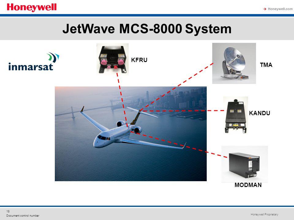JetWave MCS-8000 System KFRU TMA KANDU MODMAN