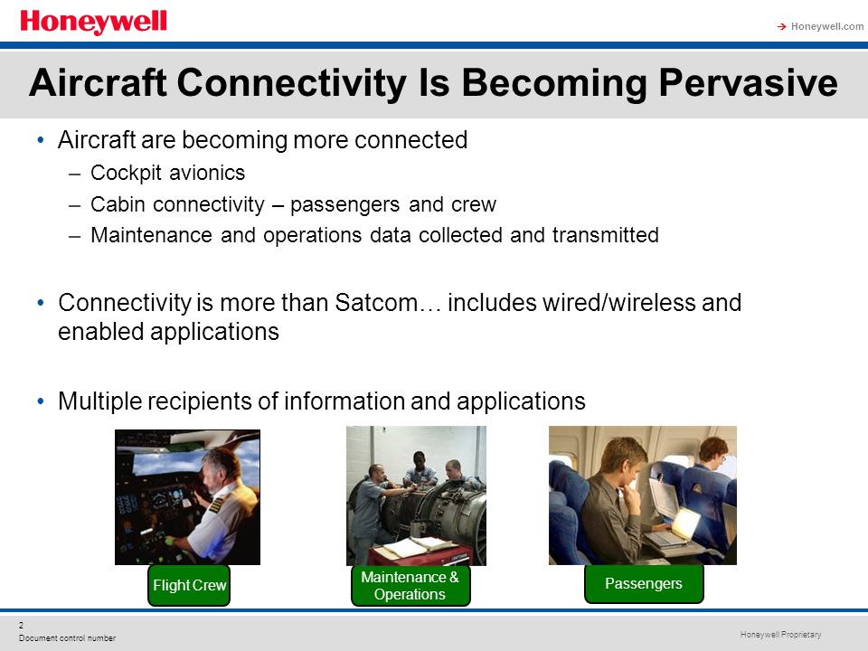 Aircraft Connectivity Is Becoming Pervasive