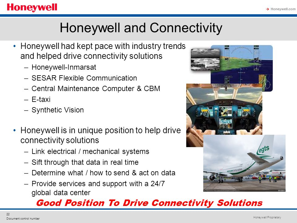 Honeywell and Connectivity