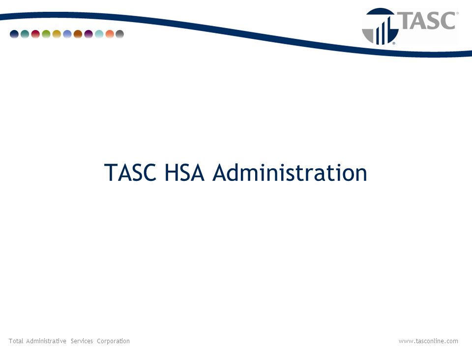 TASC HSA Administration