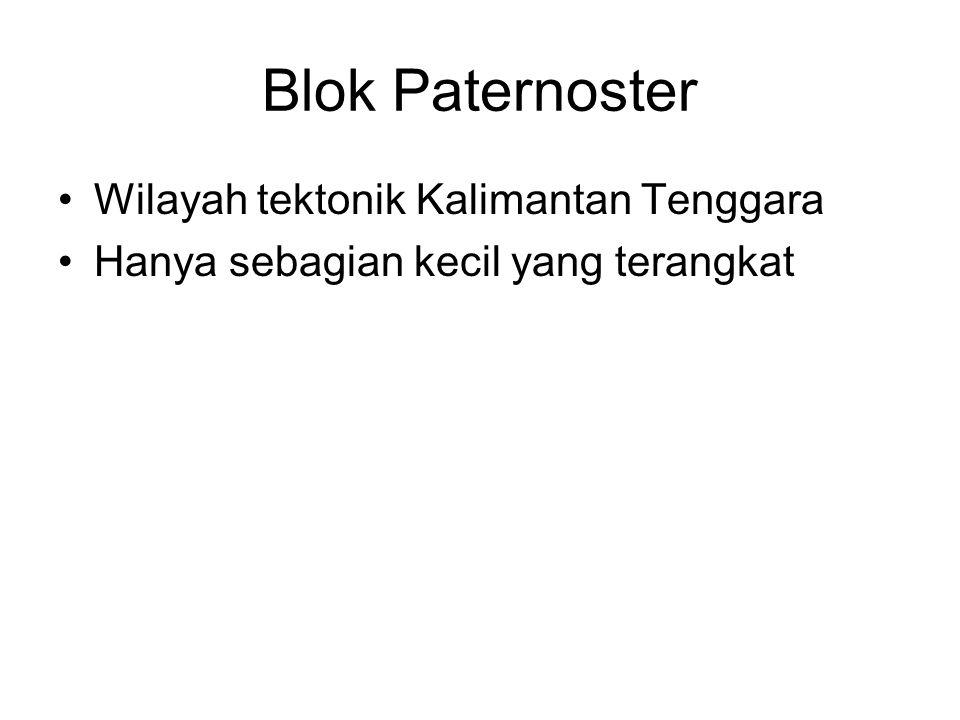 Blok Paternoster Wilayah tektonik Kalimantan Tenggara