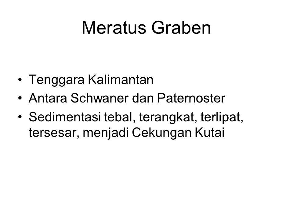 Meratus Graben Tenggara Kalimantan Antara Schwaner dan Paternoster