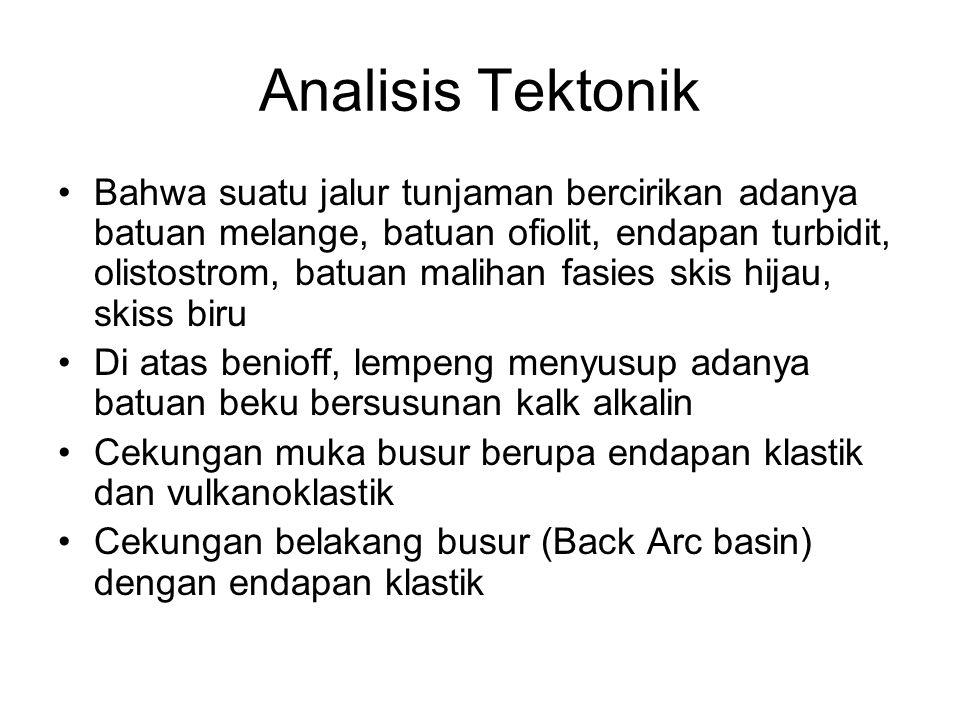 Analisis Tektonik