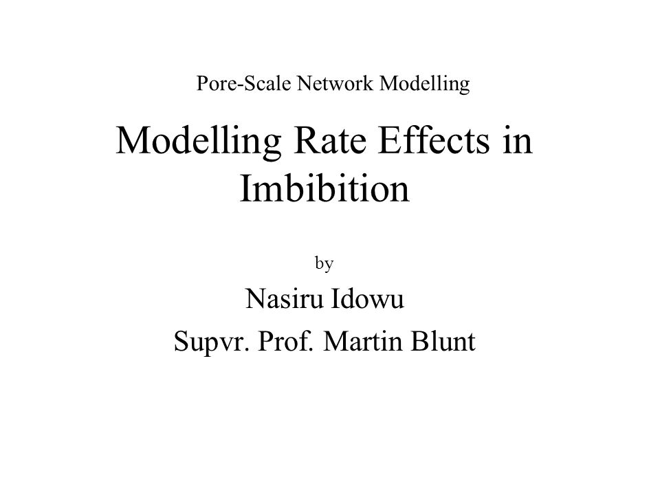 Modelling Rate Effects in Imbibition