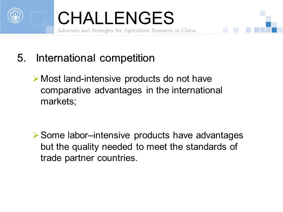 CHALLENGES International competition