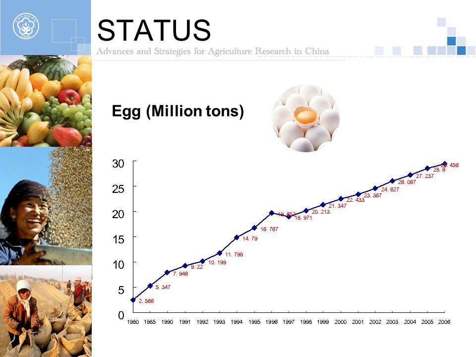 STATUS Egg (Million tons)