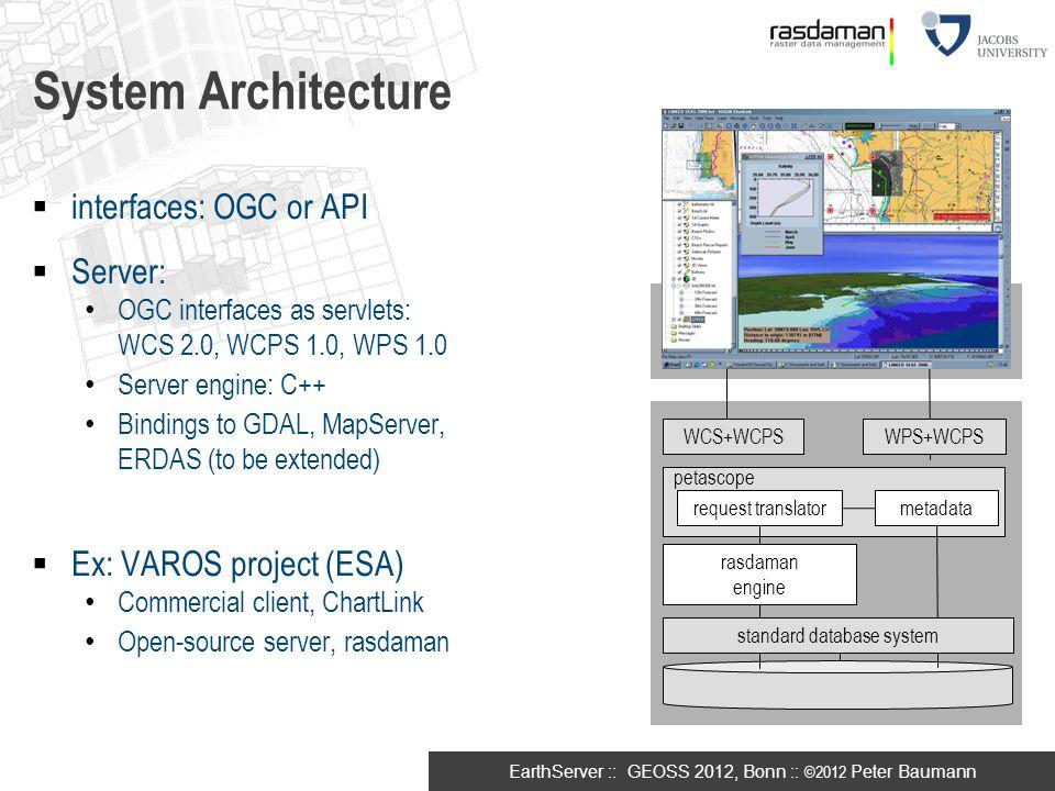 standard database system