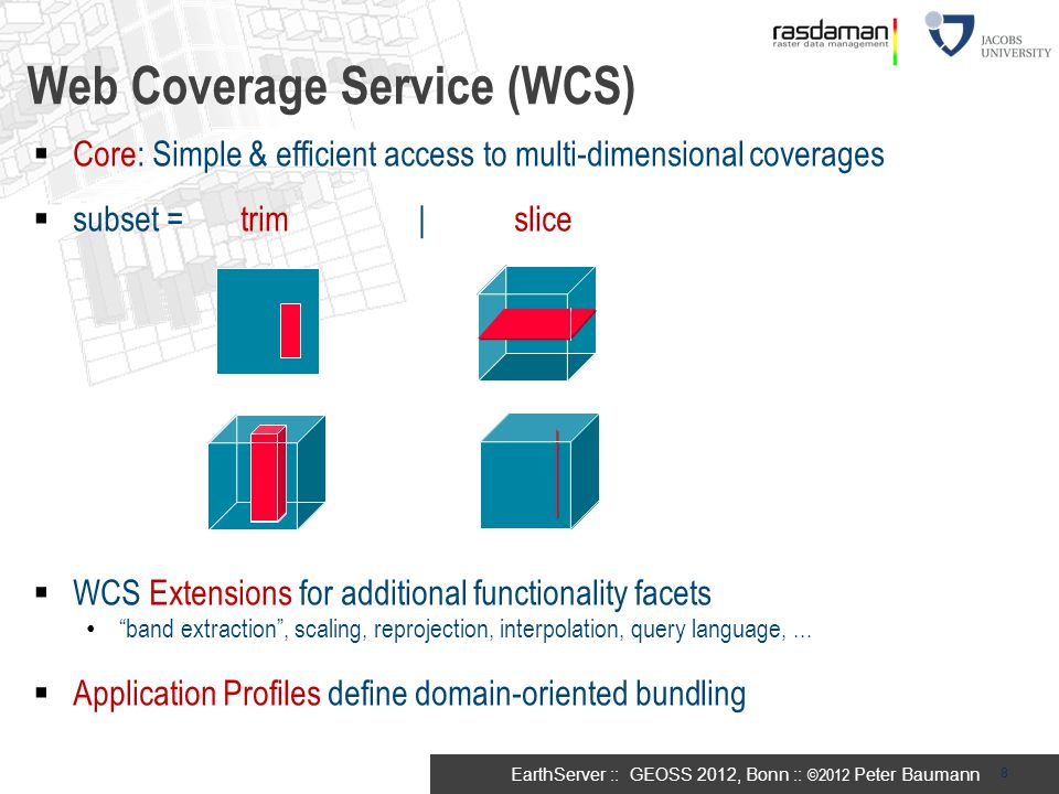 Web Coverage Service (WCS)