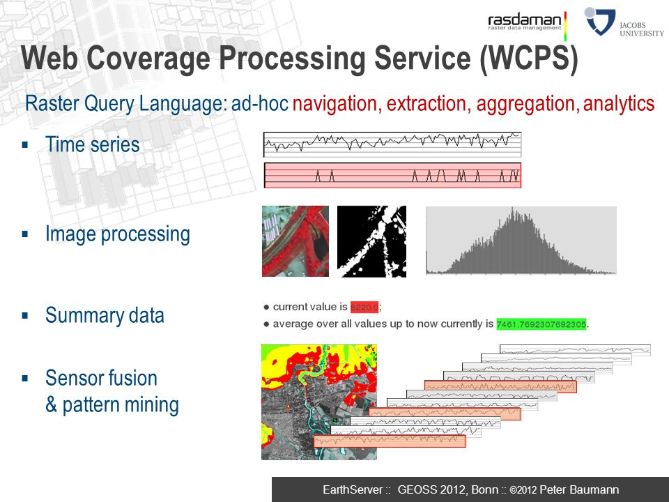 Web Coverage Processing Service (WCPS)