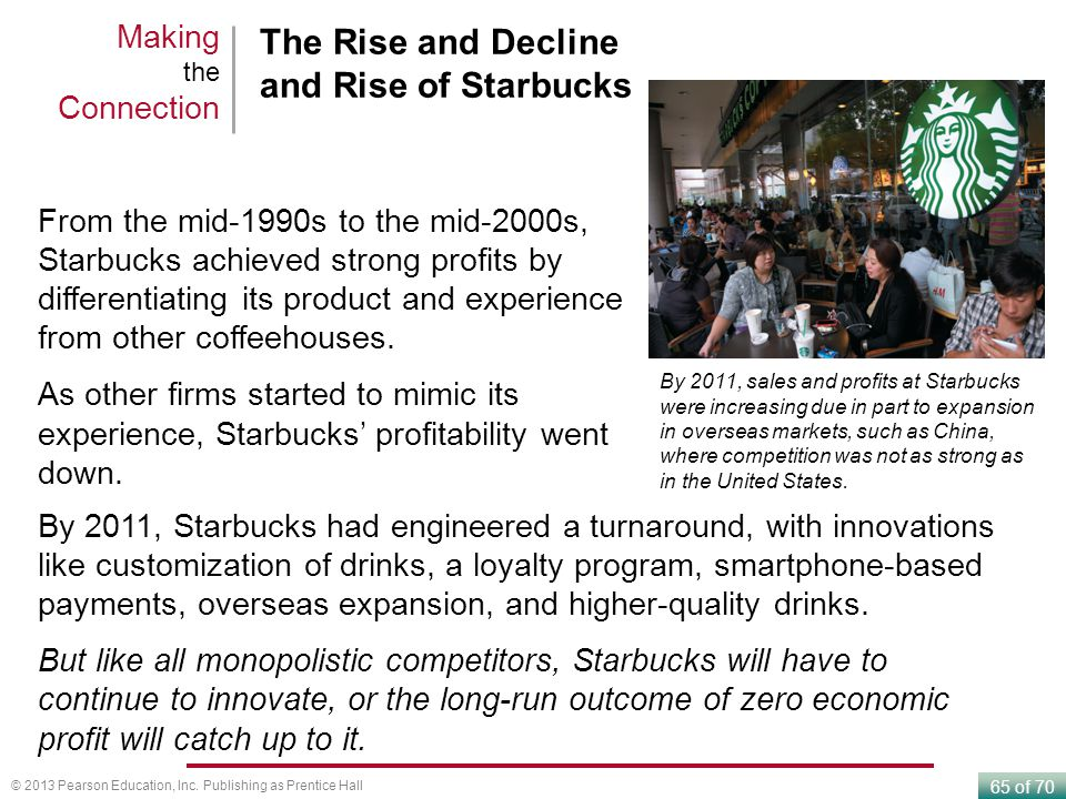 The Rise and Decline and Rise of Starbucks