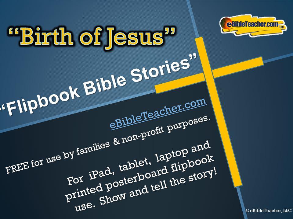 Flipbook Bible Stories