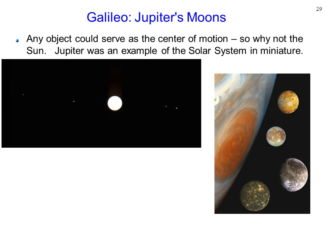 Galileo: Jupiter s Moons