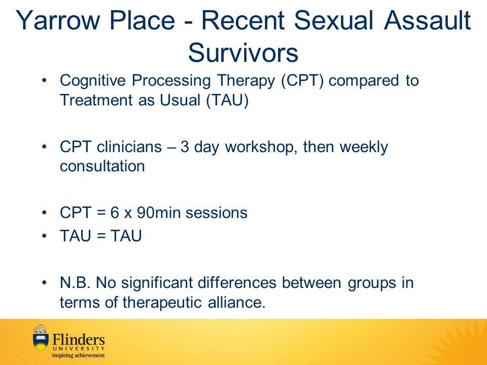 Yarrow Place - Recent Sexual Assault Survivors