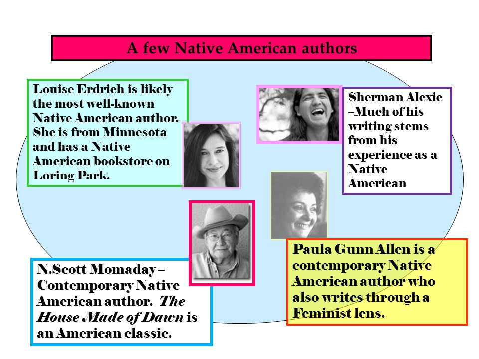 A few Native American authors