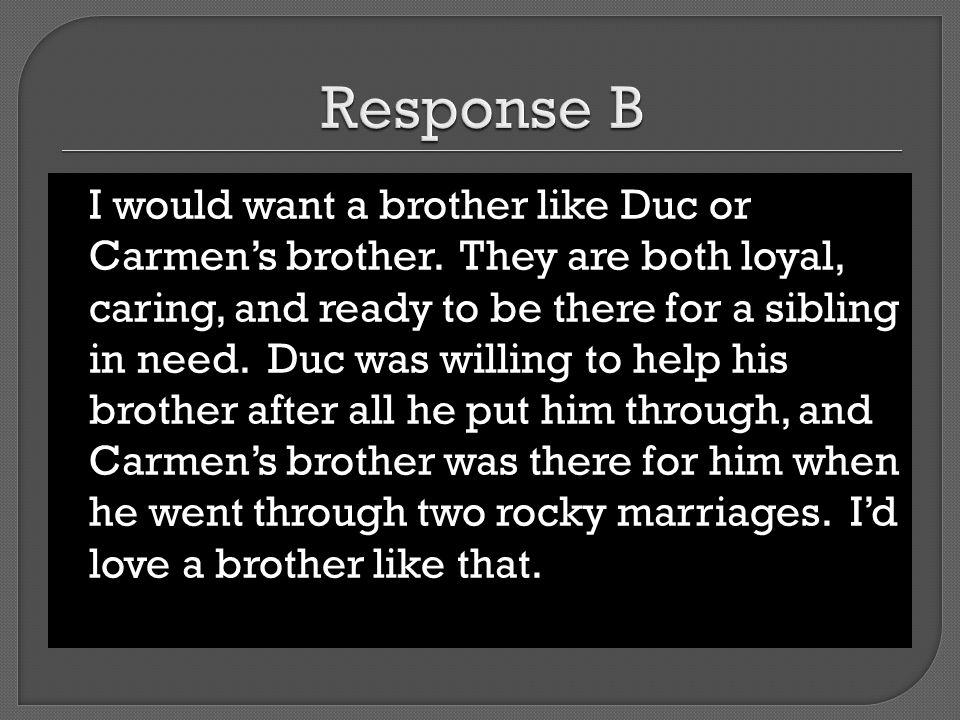 Response B