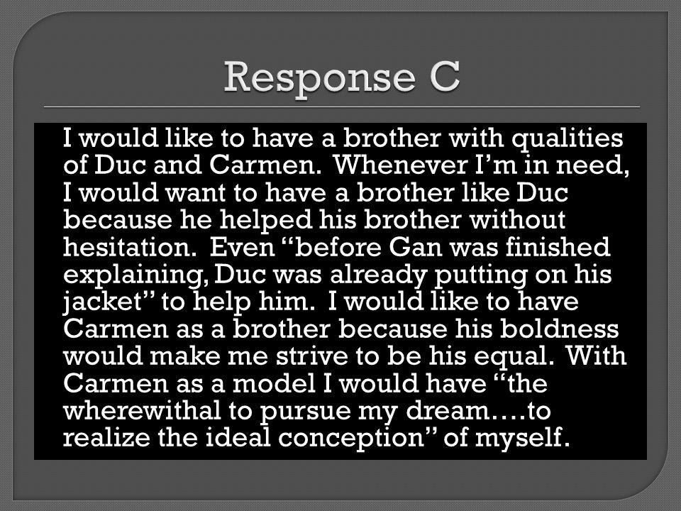 Response C