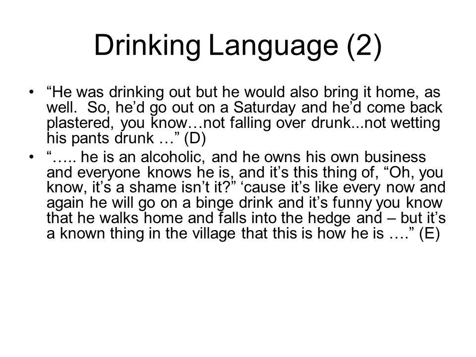 Drinking Language (2)