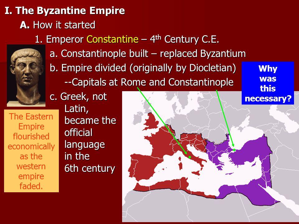 1. Emperor Constantine – 4th Century C.E.