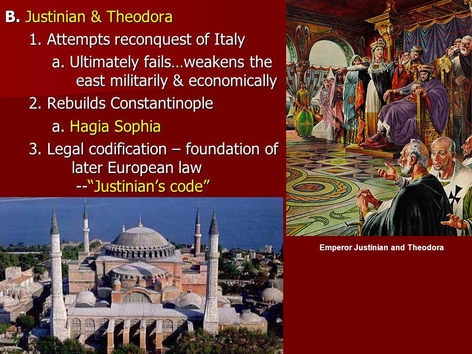 Emperor Justinian and Theodora