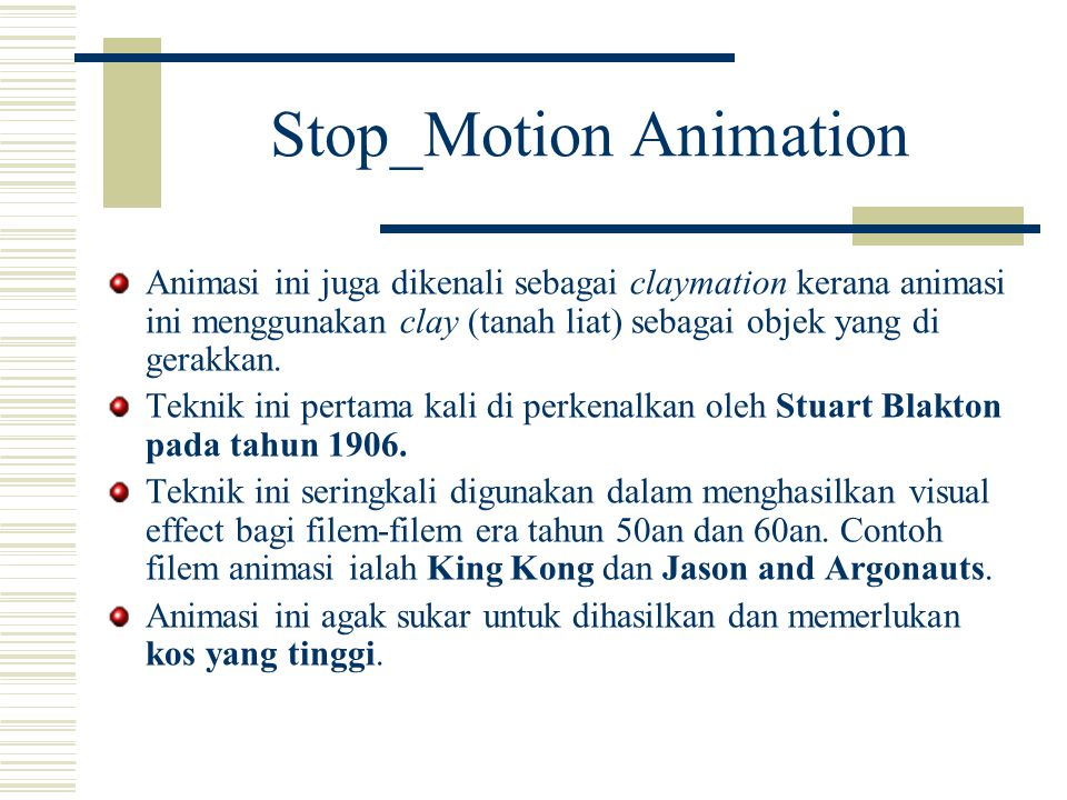 Stop_Motion Animation