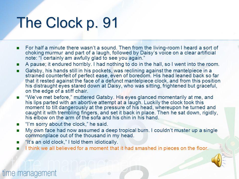 The Clock p. 91