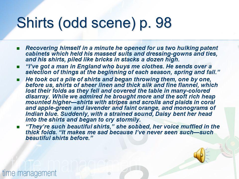 Shirts (odd scene) p. 98