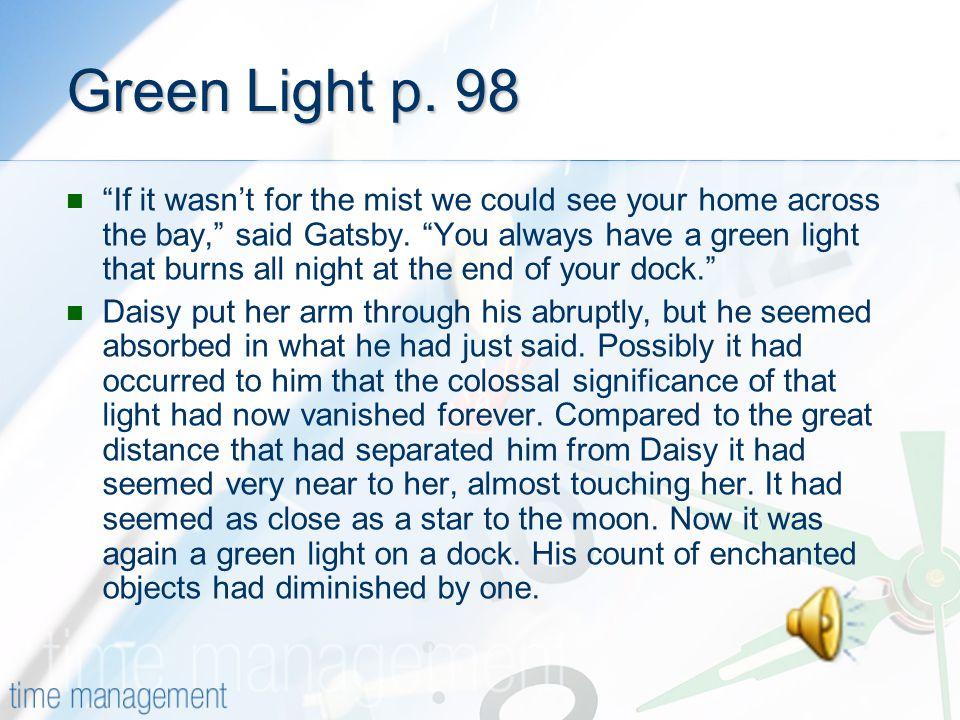 Green Light p. 98