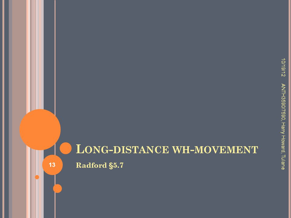 Long-distance wh-movement