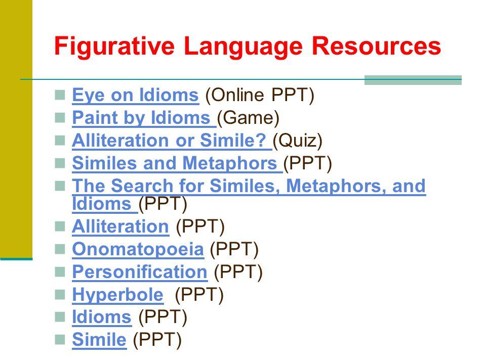 Figurative Language Resources