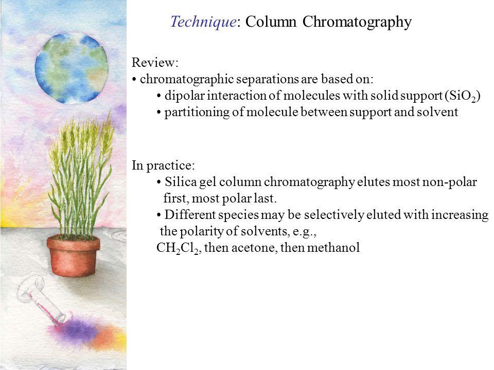 Technique: Column Chromatography