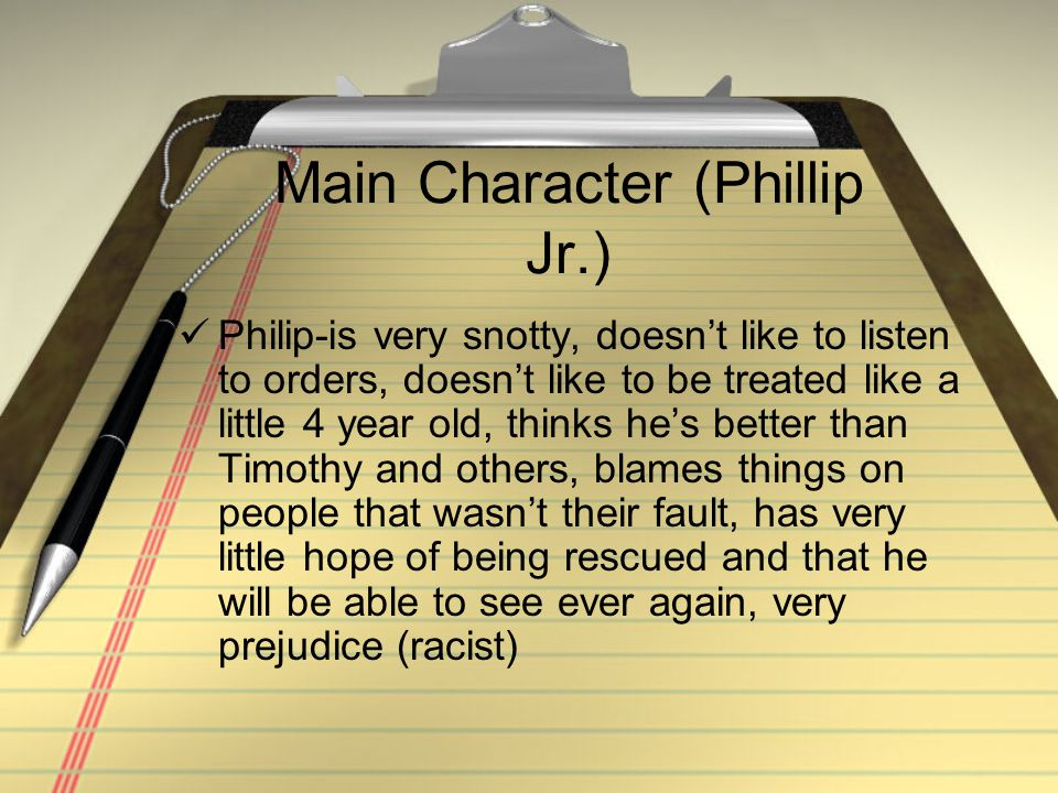 Main Character (Phillip Jr.)