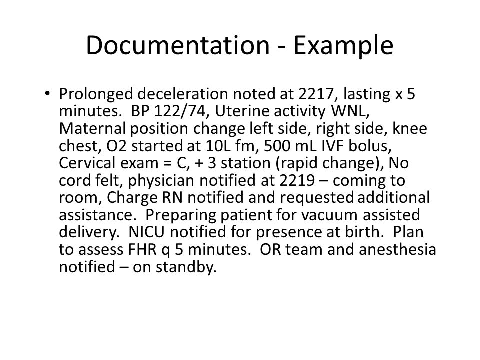 Documentation - Example