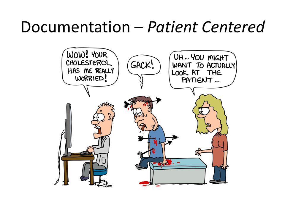 Documentation – Patient Centered