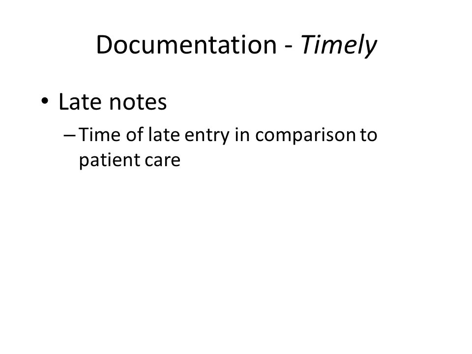Documentation - Timely