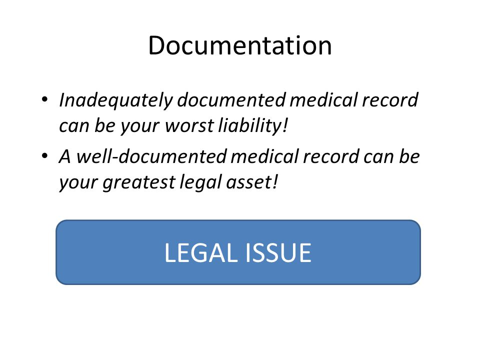 Documentation LEGAL ISSUE