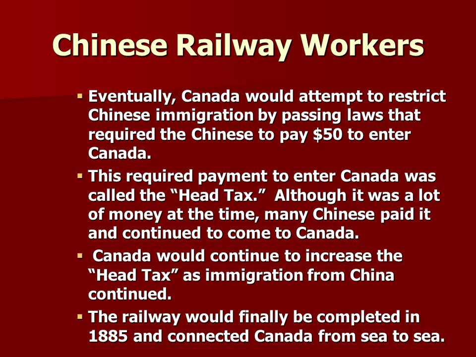 Chinese Railway Workers