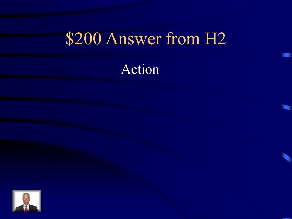 $200 Answer from H2 Action