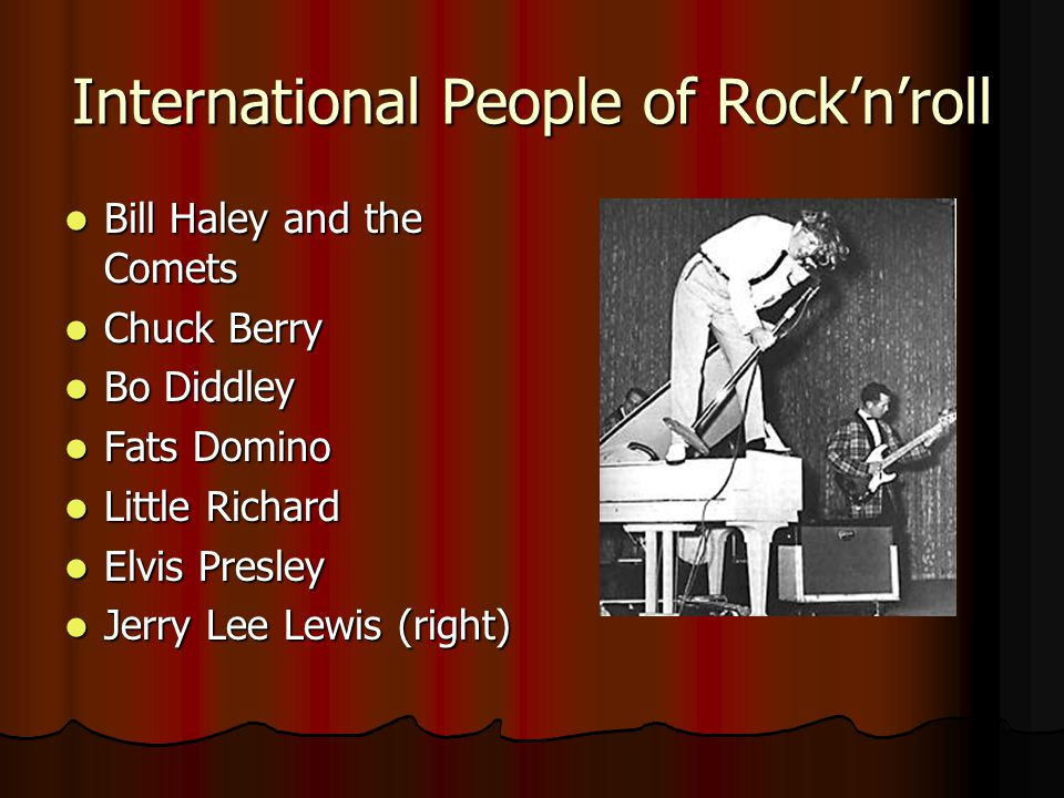 International People of Rock'n'roll