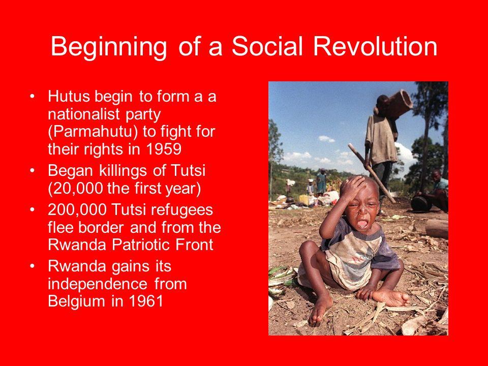 Beginning of a Social Revolution