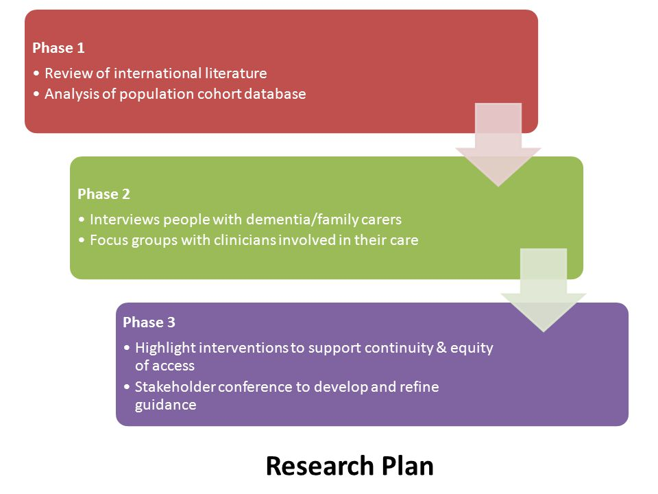 Research Plan Phase 1 Review of international literature