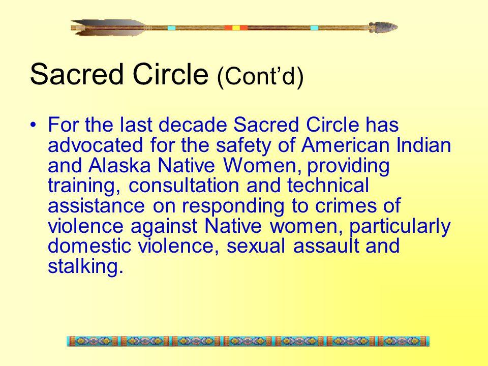 Sacred Circle (Cont'd)