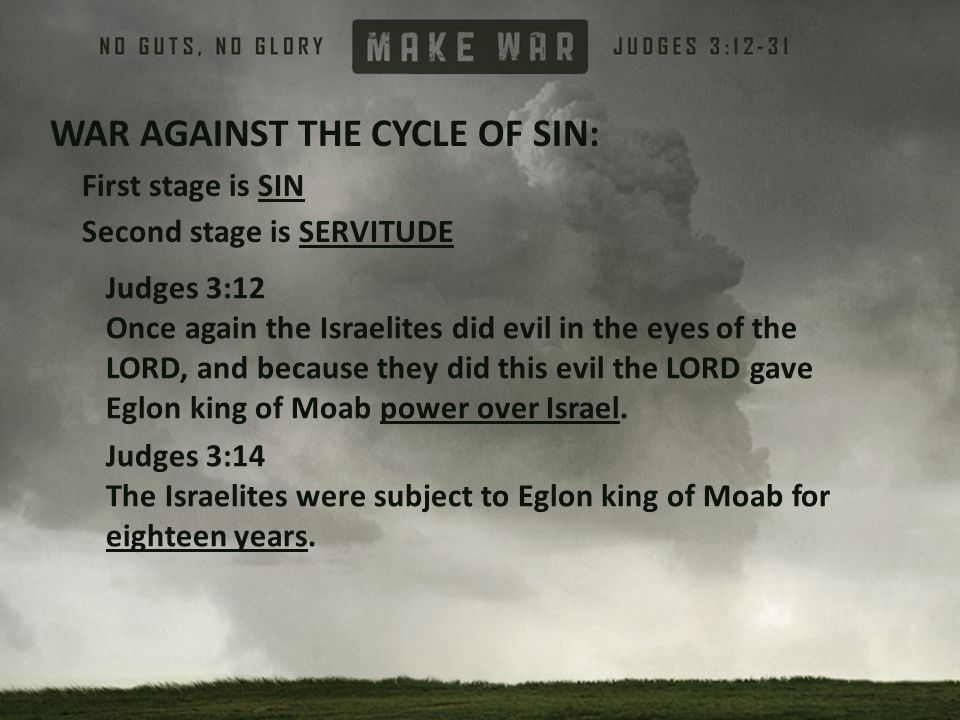 WAR AGAINST THE CYCLE OF SIN: