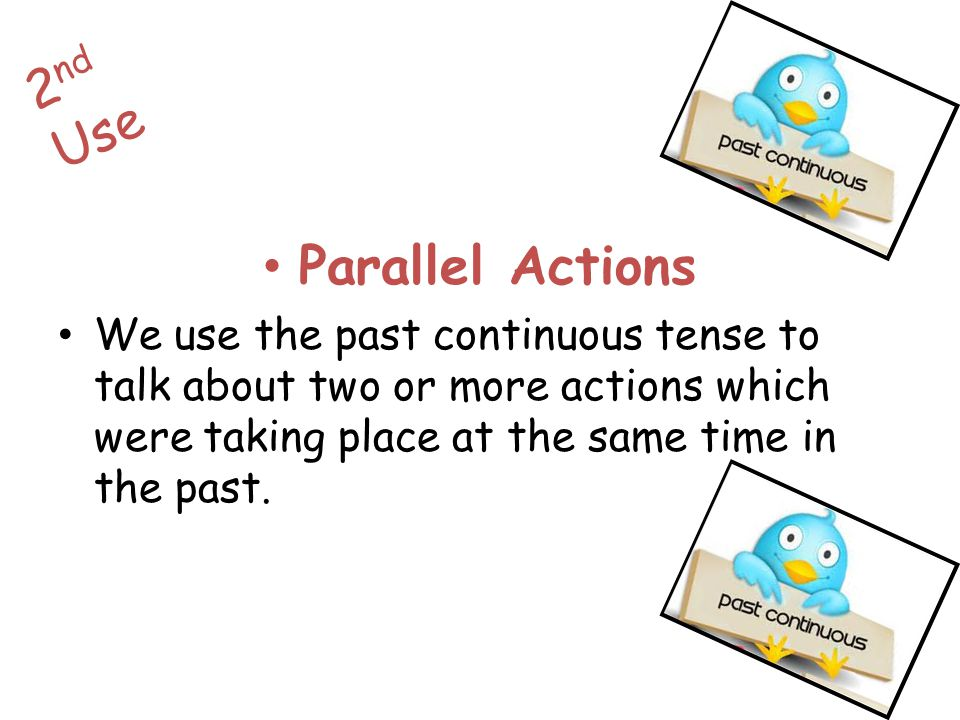2nd Use Parallel Actions