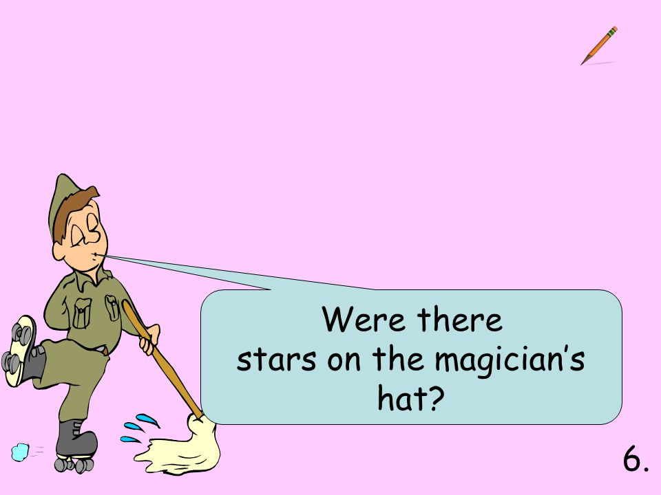 stars on the magician's hat