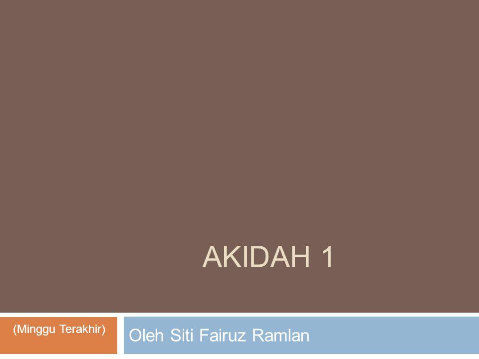 Oleh Siti Fairuz Ramlan
