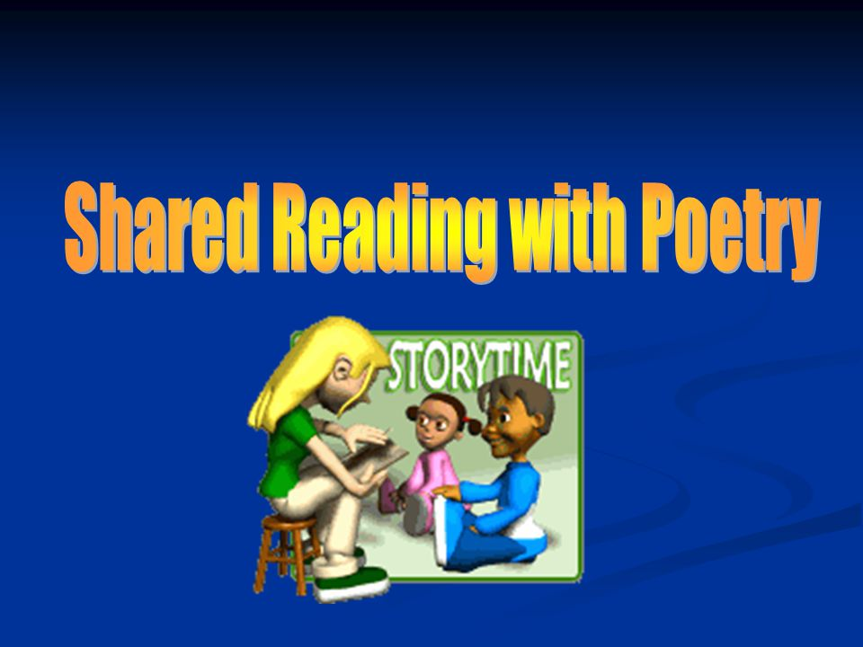 Shared Reading with Poetry