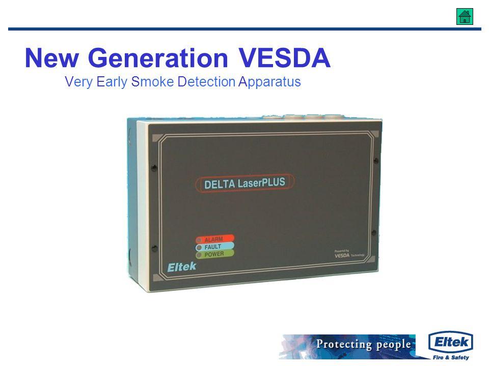 New Generation VESDA Very Early Smoke Detection Apparatus
