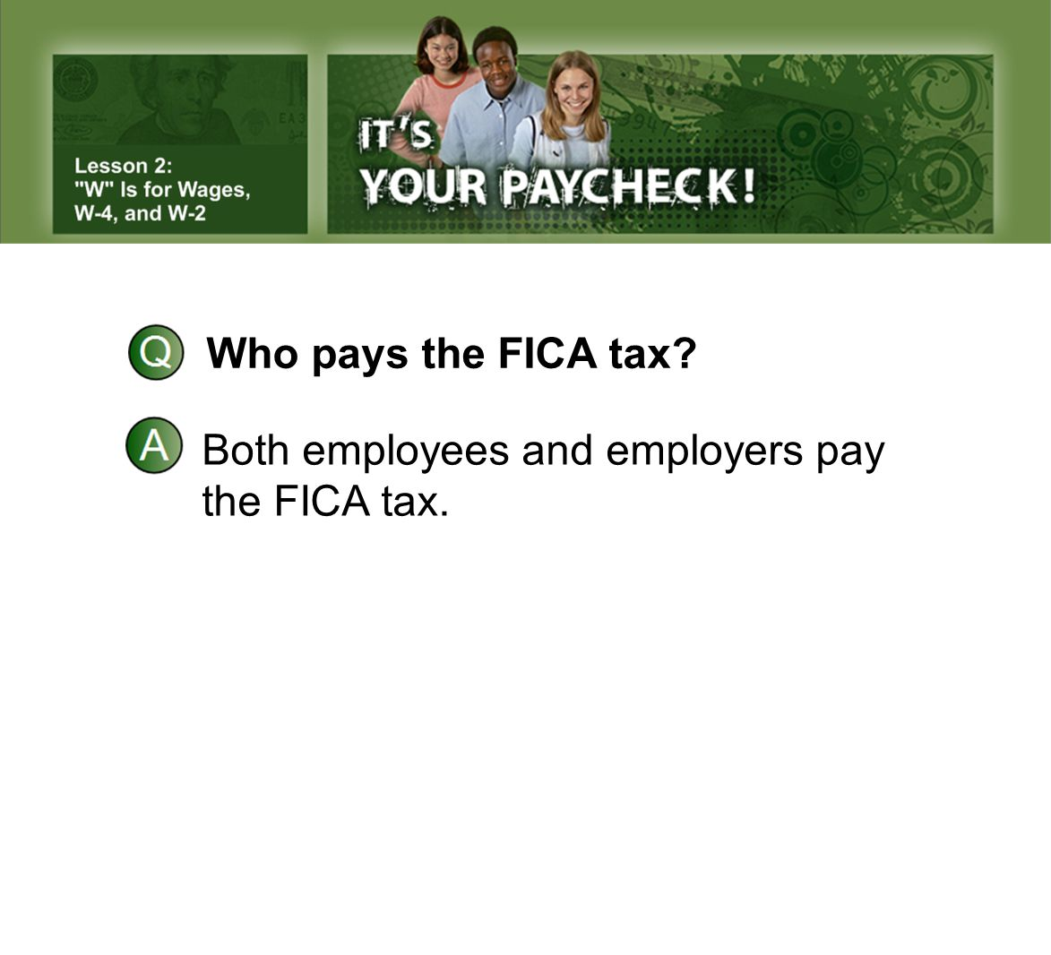 Who pays the FICA tax Both employees and employers pay the FICA tax.