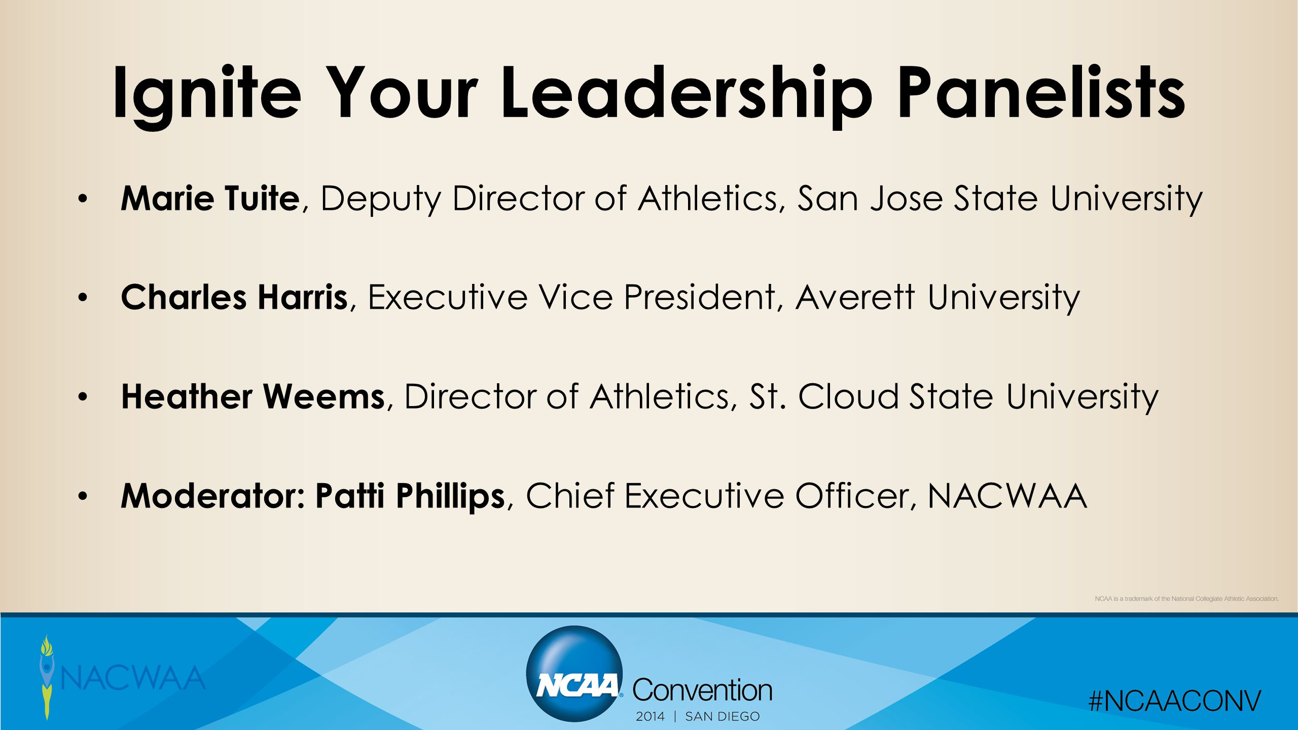 Ignite Your Leadership Panelists
